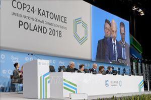 COP 24: Nỗ lực thống nhất lộ trình thực hiện Hiệp định Paris về biến đổi khí hậu