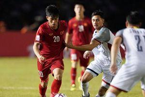 Trực tiếp bóng đá AFF Cup 2018 Việt Nam-Philippines : Chiến thắng 2-1, ĐTQG Việt Nam đang trên thế thắng cho trận bán kết lượt về