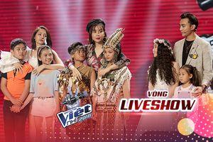 Team Giang - Hồ chiến thắng, Anh Khôi - Bảo Anh - Hải Yến - Thiên Nga bật khóc chia tay Giọng hát Việt nhí