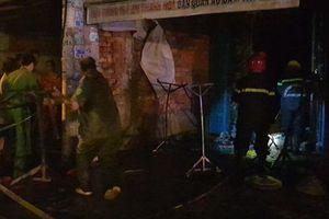 TP.HCM: Cháy dãy trọ trong đêm, 1 người tử vong, nhiều người bị thương