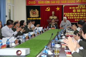 Hội thảo khoa học 'Nhận thức về vị thế địa chính trị và khai thác vị thế địa chính trị của Việt Nam'