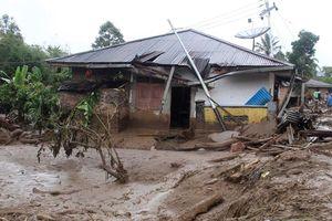 Lở đất tại khu trọ sinh viên ở Indonesia làm 7 người thiệt mạng