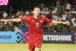Anh Đức đánh đầu tung lưới Philippines, tuyển Việt Nam dẫn trước 1-0