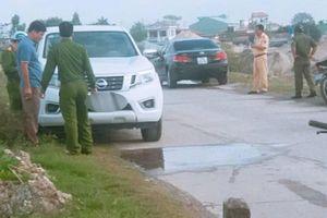 Nam Định: Phát hiện Thượng úy Công an tử vong trong xe ôtô