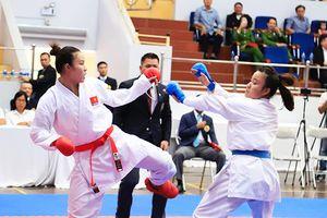 Nguyễn Thị Hồng Anh khẳng định vị thế nhà vô địch hạng trên 68kg môn karatedo