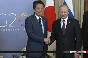 Nga-Nhật đẩy nhanh đàm phán hiệp ước hòa bình