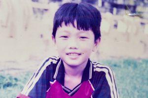 Những bức ảnh Xuân Trường từ khi còn bé