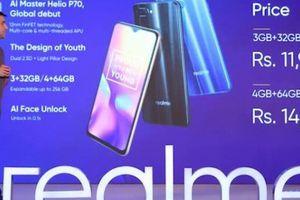 Realme U1 là smartphone đầu tiên trên thế giới dùng chip Helio P70