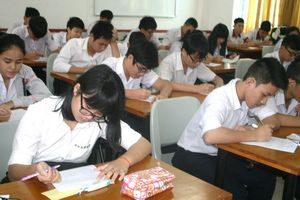 Ninh Bình kiểm tra học kì I theo đề chung nhiều môn với GDTX