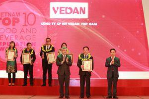 Vedan- Top 10 công ty uy tín ngành thực phẩm, đồ uống