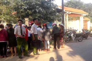 Phát hiện thi thể bé sơ sinh trước cổng trường học ở Thanh Hóa