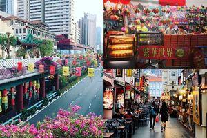 Khám phá các gam màu rực rỡ tại China Town, Singapore