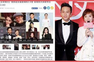 Lan truyền danh sách đầy đủ 17 ngôi sao hạng A của Trung Quốc bị truy thu thuế
