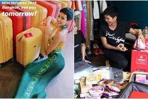 Hoa hậu H'Hen Niê ơi, mang 12 vali đi thi Miss Universe 2018 đã 'xài' đến đâu rồi?