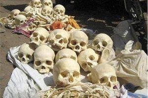 Bắt kẻ buôn lậu 50 bộ xương người dùng cho tà thuật ở Ấn Độ