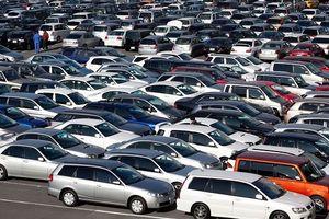 Kim ngạch nhập khẩu ôtô nguyên chiếc tiến sát mốc 1,5 tỷ USD