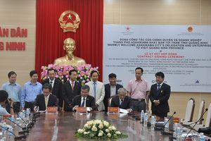 Đoàn công tác của chính quyền và doanh nghiệp TP Asahikawa (Nhật Bản) thăm tỉnh Quảng Ninh