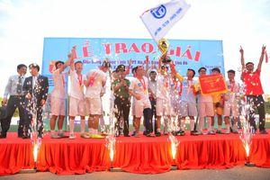 Trường THPT Trương Định vô địch giải bóng đá học sinh Hà Nội