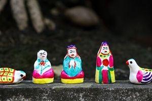 Phỗng đất: Đồ chơi truyền thống đang chìm vào lãng quên