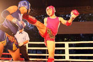 Khởi tranh môn muay Thái Đại hội thể thao toàn quốc 2018