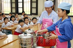 Giám sát nguồn gốc thực phẩm vào trường học