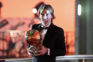 Modric giành Quả bóng vàng: Chiến công của người Croatia