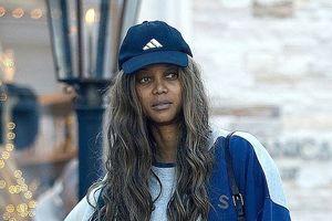 Siêu mẫu Tyra Banks lộ mặt mộc già nua, tiều tụy