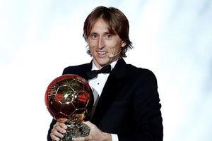 Vượt C.Ronaldo và Messi, Luka Modric giành Quả bóng vàng 2018