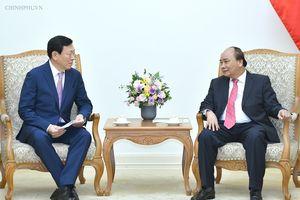 Thủ tướng đề nghị Tập đoàn Lotte lập quỹ khởi nghiệp cho thanh niên