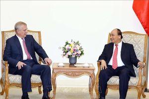 Thủ tướng Chính phủ Nguyễn Xuân Phúc tiếp Công tước xứ York-Hoàng tử Anh
