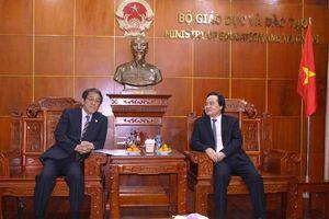 Thúc đẩy hợp tác GD&ĐT Việt Nam - Nhật Bản
