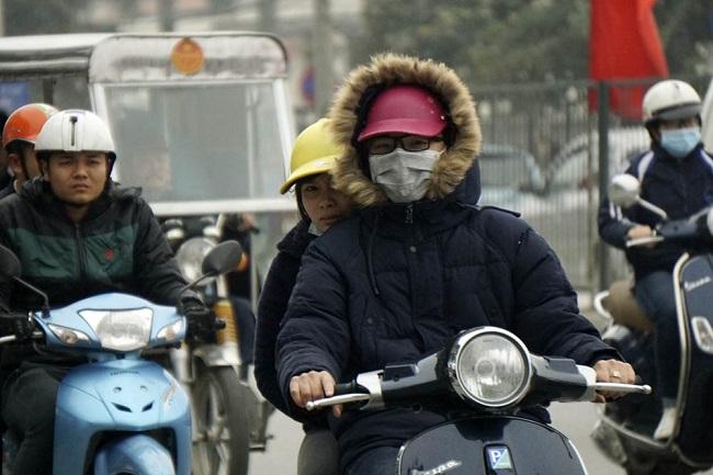 Miền Bắc sắp đón gió mùa, Hà Nội mưa rét