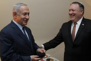 Thủ tướng Israel hội đàm với Ngoại trưởng Mỹ về vấn đề hạt nhân Iran