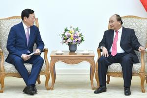 Thủ tướng đề nghị Tập đoàn Lotte lập quỹ khởi nghiệp ở Việt Nam