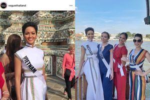 Diện áo dài thổ cẩm, H'Hen Niê rạng ngời trên 'Vogue' Thái Lan