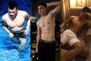 3 chàng trai U23 sở hữu body sáu múi 'đốt mắt' chị em