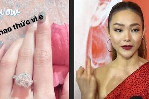 Dân tình đồn đoán Minh Hằng đeo nhẫn kim cương bỏ cuộc chơi showbiz, nữ chính gạt phắt: 'Không đúng đâu'