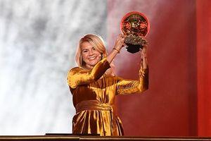 France Football lần đầu tiên trao Quả bóng Vàng cho nữ cầu thủ