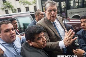 Uruguay từ chối cấp quy chế tị nạn chính trị cho cựu Tổng thống Peru