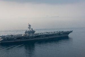 Mỹ đã điều tàu sân bay tới Trung Đông để đối phó với Iran