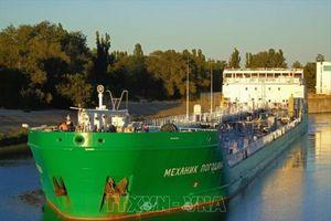 Căng thẳng Nga-Ukraine: Tòa án Ukraine từ chối thả tàu chở dầu của Nga