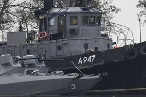 Điện Kremlin kín tiếng về số phận 3 tàu chiến Ukraine Nga bắt giữ
