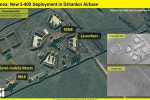 Ảnh vệ tinh Nga triển khai 'rồng lửa' S-400 sát vách Ukraine