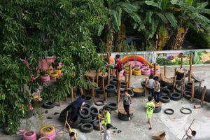 Ra mắt sân chơi tái chế cho trẻ em