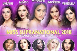 Minh Tú tuột hạng 'không phanh' trên BXH mới nhất tại Miss Supranational 2018 khiến nhiều người hoang mang