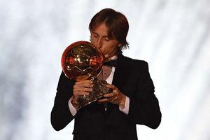 Vượt Ronaldo và Griezmann, Luka Modric giành Quả bóng vàng 2018