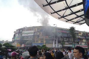 Hà Nội: Cháy lớn tại khu tập thể cũ cơi nới thêm nhiều 'chuồng cọp'