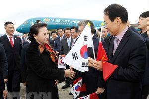 Chủ tịch Quốc hội Nguyễn Thị Kim Ngân bắt đầu thăm chính thức Hàn Quốc