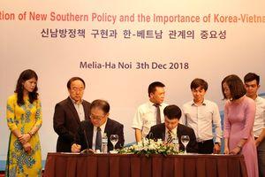 Thực thi chính sách hướng Nam mới và tầm quan trọng của quan hệ Hàn Quốc - Việt Nam