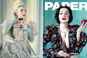 'Gái hư' Lindsay Lohan tái xuất với hình ảnh Công chúa Disney gợi cảm